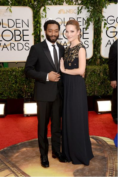 Chiwetel Ojiofor and his girlfriend Sari Mercer