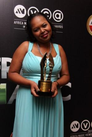 ustin on behalf of Christian Almesberger; winner of Best Cinematography in a movie (Nairobi Half Life)