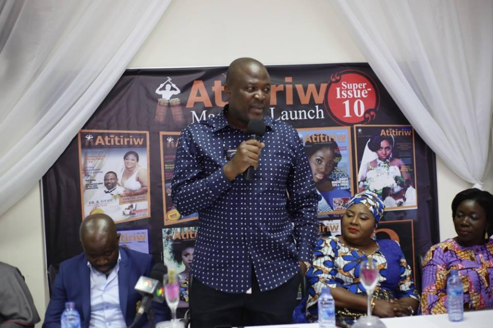 Ibrahim Mahama @ the Launch