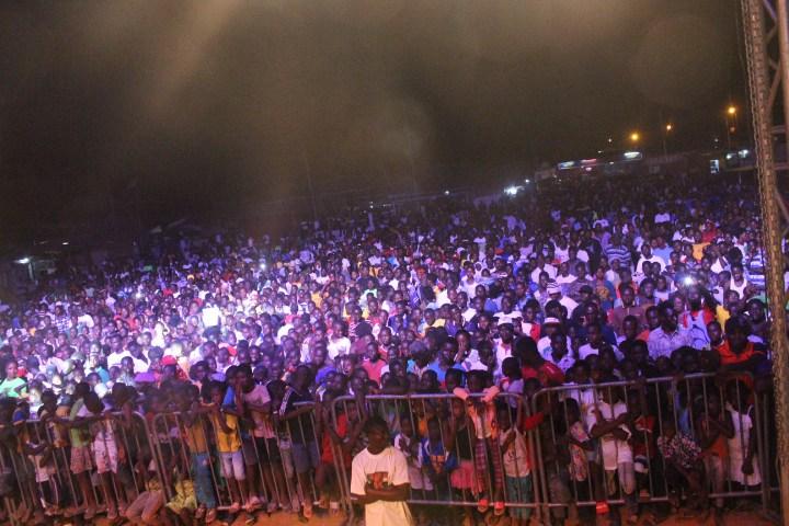 Massive attendance
