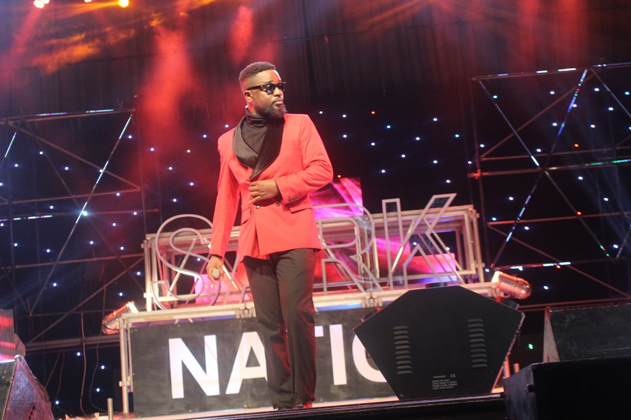 Sarkodie at Rapperholic '15
