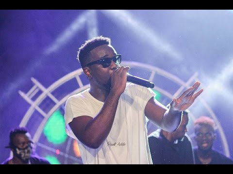 Performing at 'Rapperholic'
