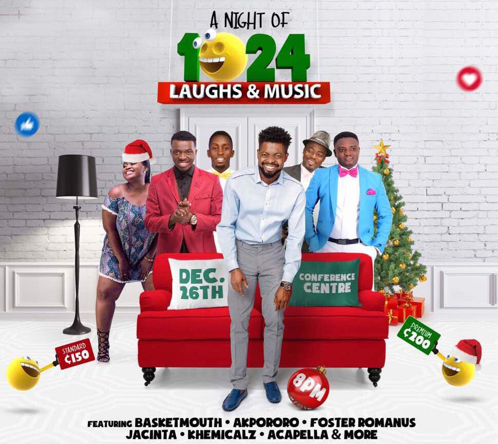 THE BIGGEST COMEDY SHOW! BasketMouth Leads Forces For 'Night