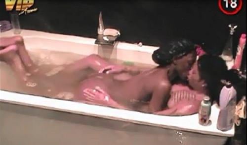 Beverly Osu and Angelo afrovibez