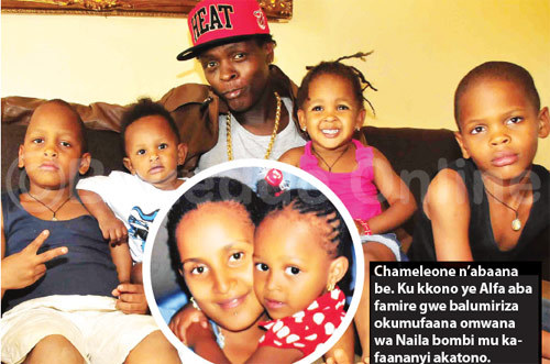 jose chameleone and kids