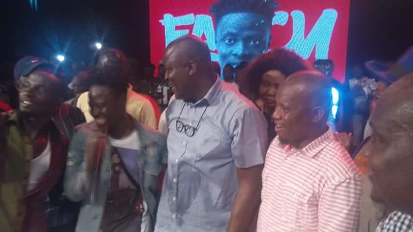 The big 'guns like Ibrahim Mahama were there to support