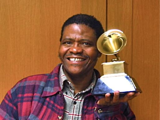Ladysmith B. Mambaso with 2nd Grammy